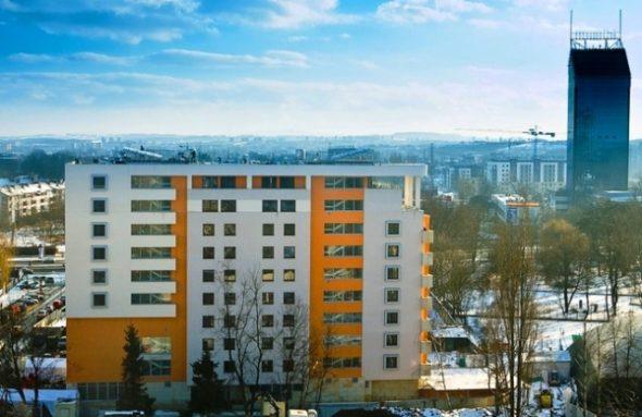 Widok na Kordylewskiego