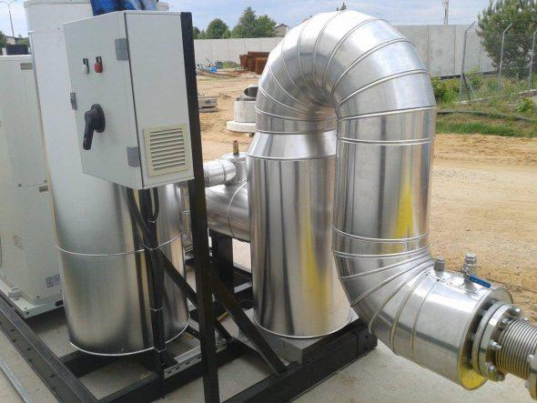 System klimatyzacyjny w Biogazowni