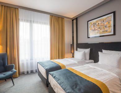 Pokój hotelowy w Grand Ascot